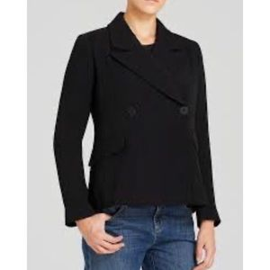 Eileen Fisher Double Breasted Button Jacket